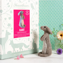 Hawthorn Handmade Rabbit Needle Felting Kit - HH2003514