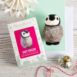 Hawthorn Handmade Baby Penguin Mini Needle Felting Kit - HH2008056