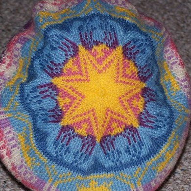 Sunrise Mermaid Hat