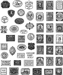 """Stampers Anonymous Tim Holtz Cling Stamps 7""""X8.5"""" - Stamp Collector"""