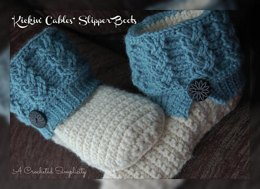 """""""Kickin' Cables"""" Slipper Boots"""