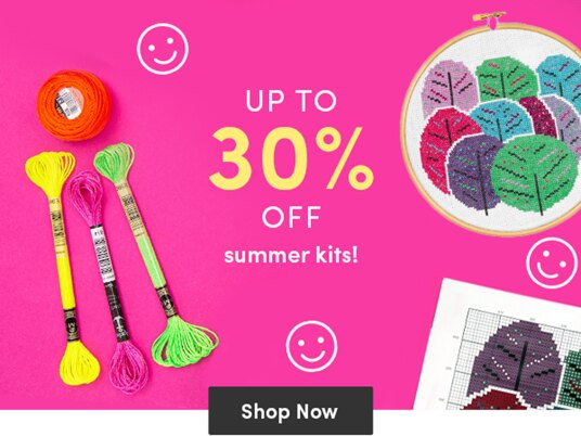 Up to 30 percent off summer kits!