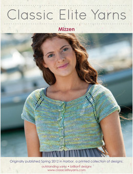 Mizzen Cardigan in Classic Elite Yarns Seedling Handpaints - Downloadable PDF