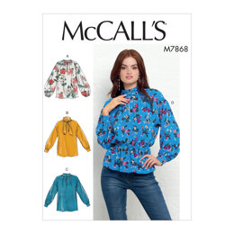 McCall's Misses' Tops M7868 - Sewing Pattern