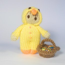 Easter Chick Bitsy Doll