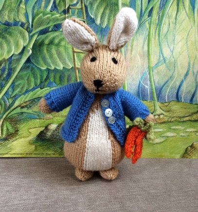 Peter Rabbit Knitting Project By Hennie Loveknitting
