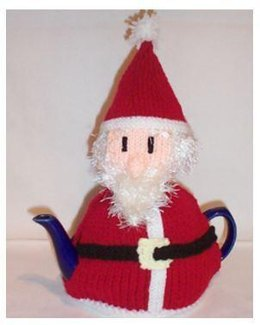 Santa Tea Cosy Knitting Pattern