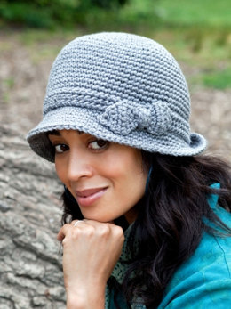 Elegant Hat in Caron Simply Soft - Downloadable PDF