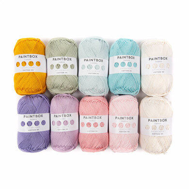 Paintbox Yarns Cotton DK 10 Ball Colour Pack - Designed by You