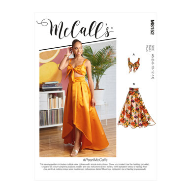 McCall's Misses' Top & Skirts M8152 - Sewing Pattern
