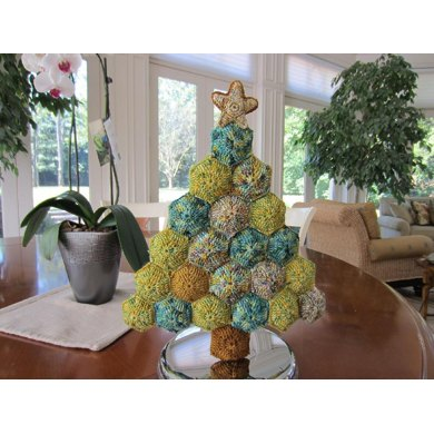 Hexapuff Christmas Tree