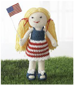 Born on the 4th of July Doll in Lily Sugar 'n Cream Solids