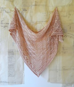 Wonderberry Shawl