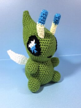 Pokemon Celebi Amigurumi Doll