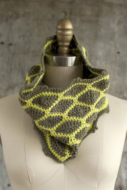 Minas Scarf in Manos del Uruguay Silk Blend Semi-Solid - 2013V
