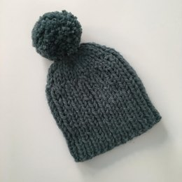 Quick and Easy Bulky Weight Bobble Hat