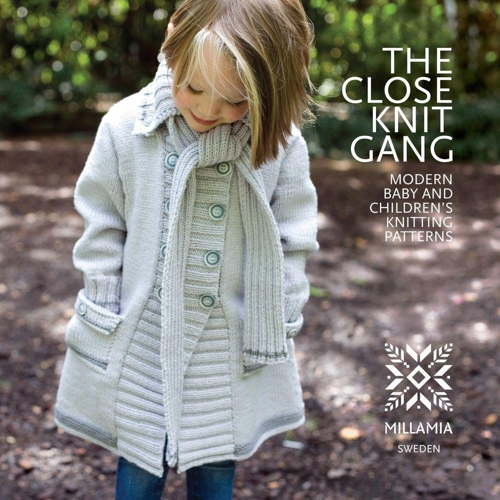 The Close Knit Gang Knitting Book by MillaMia