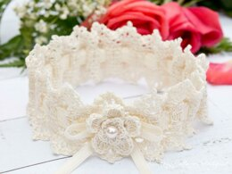 Wrapped in Lace Wedding Garter
