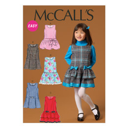 McCall's Children's/Girls' Jumpers M7008 - Sewing Pattern