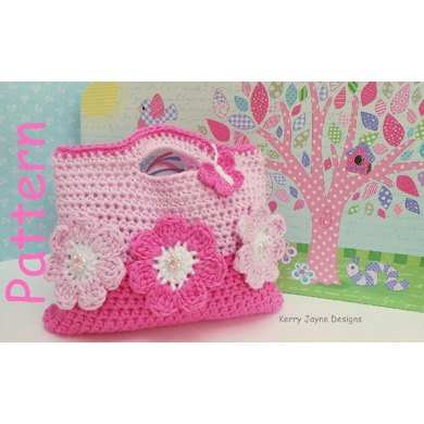 Sweet Flower Crochet Bag