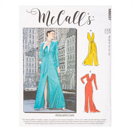 McCall's #MaraMcCalls - Misses' Special Occasion Dresses M8037 - Sewing Pattern