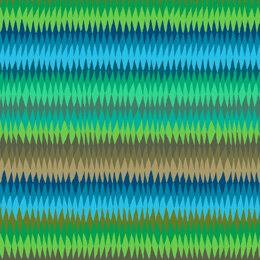 Kaffe Fassett Diamond Stripe Cut to Length - Green