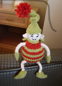 Tiny Elf Toy in Spud & Chloe Sweater