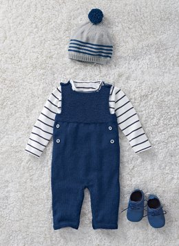 Babies Overalls in Bergere de France Ideal - 71136-356 - Downloadable PDF