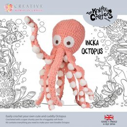 Creative World of Crafts Knitty Critters Incka Octopus - 63cm