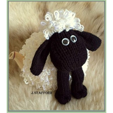 Loopy Sheep Tea Cosy Knitting Pattern By Posh Tots