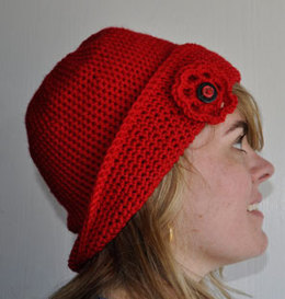 1920s-Style Crocheted Cloche in Crystal Palace Yarns Merino 5 Solids