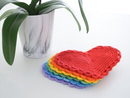 The Hearts Of Hope Coasters