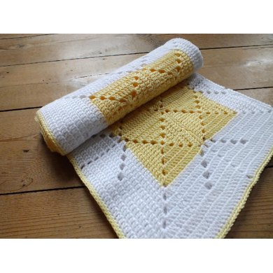 Lemon Squash Baby Blanket