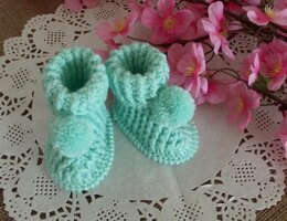 Lucerito Baby Booties