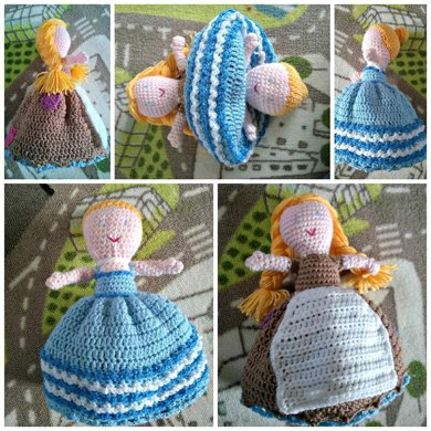 Cinderella Topsy Turvy Doll Crochet Pattern By Wide Eyed Mummy