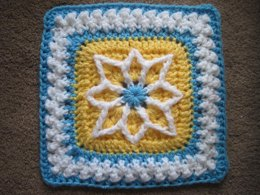 "Precious 6"" and 9"" Afghan Square"