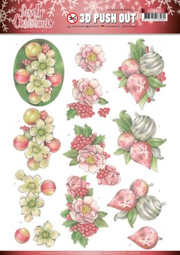 Find It Trading Jeanine's Art Punchout Sheet - Ornaments, Lovely Christmas