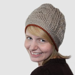 Crossroads Cabled Beanie