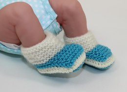Just For Preemies - Fur Top Booties