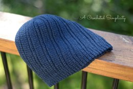 """""""Knit-Look"""" Everyday Beanie & Slouch"""