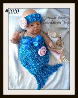 #1010 Mermaid Tail Set