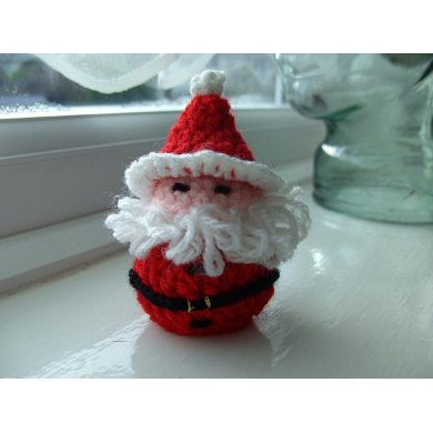 Santa (Chocolate Cover) Decoration