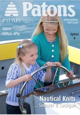 Girls Nautical Classics in Patons 100% Cotton 4 Pl