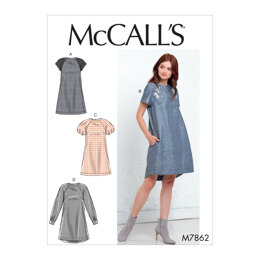 McCall's Misses' Dresses M7862 - Sewing Pattern
