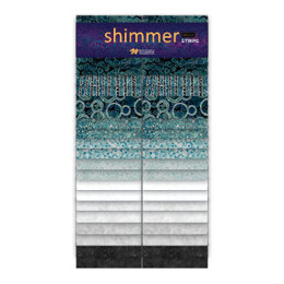 Northcott Shimmer 2.5 in Strip Roll