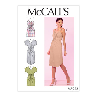 McCall's Misses' Dresses M7922 - Sewing Pattern