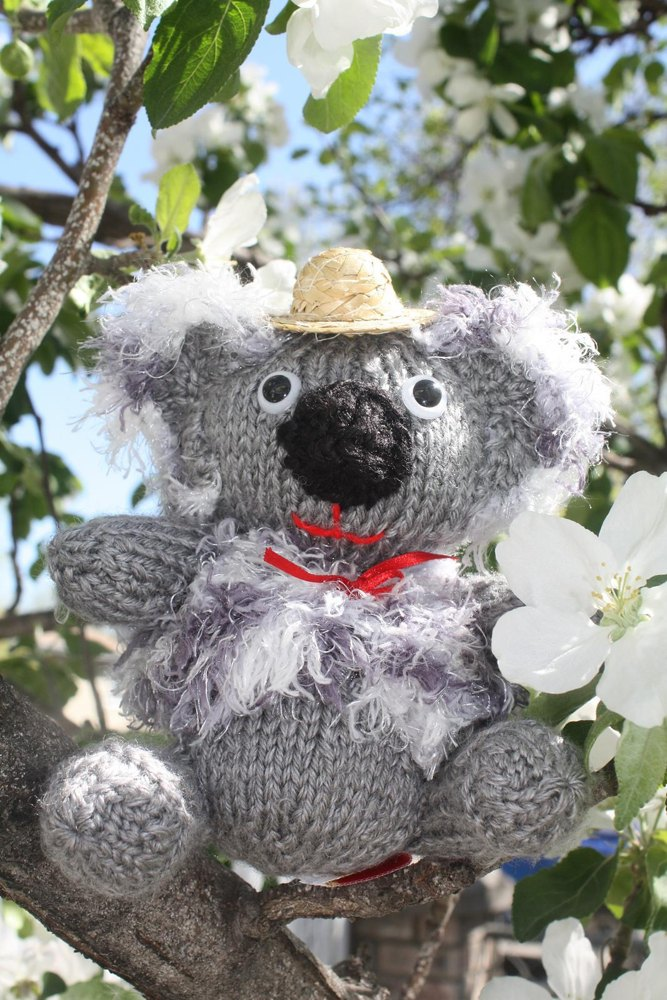 Koala Bear Knitting pattern by Tatsgrans Treasures