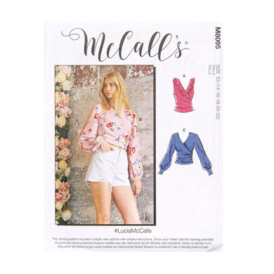 McCall's Misses' Tops M8095 - Sewing Pattern