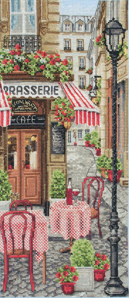 Anchor French City Scene Cross Stitch Kit