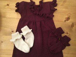 Ella Dress and matching socks
